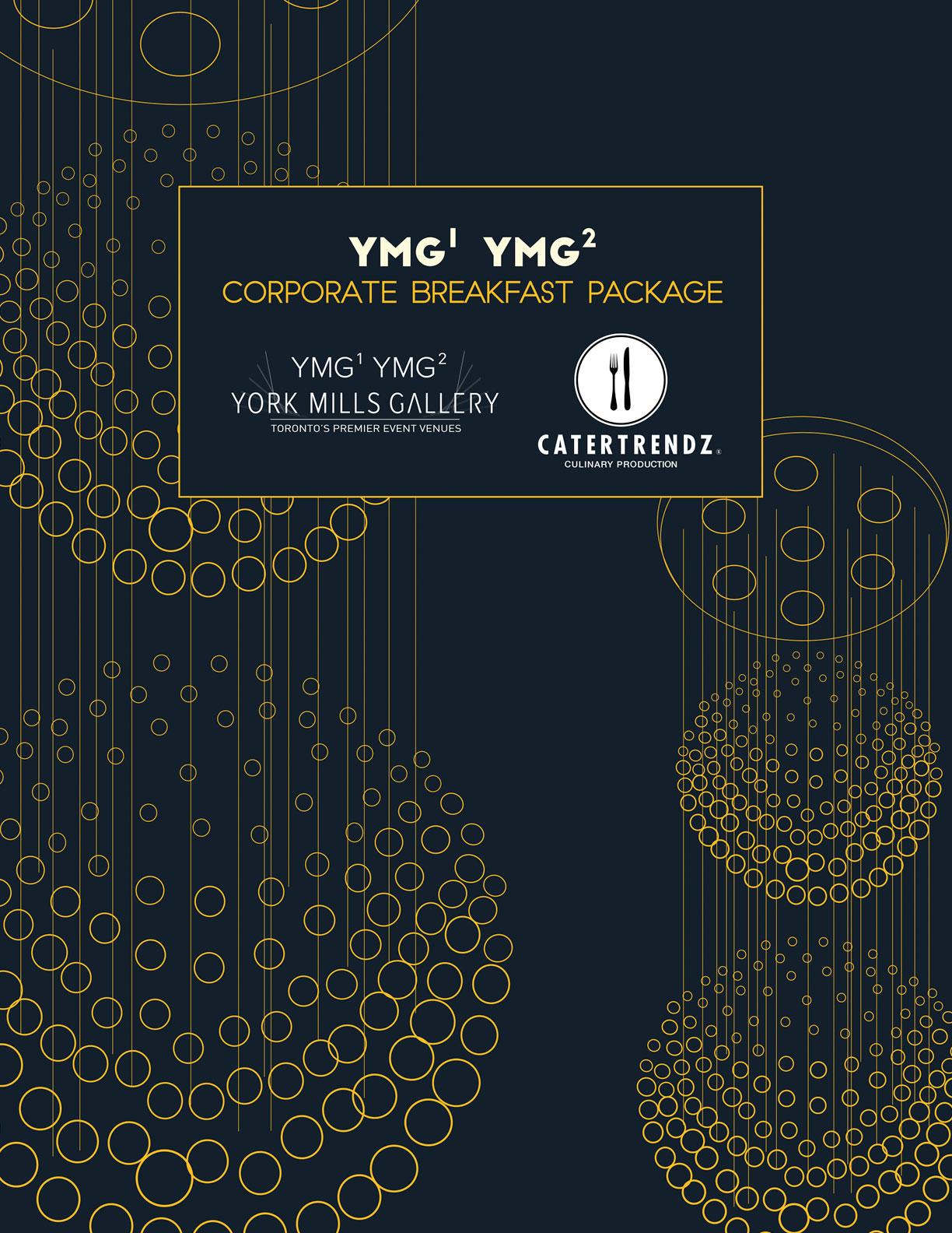 YMG Corporate Breakfast Menu