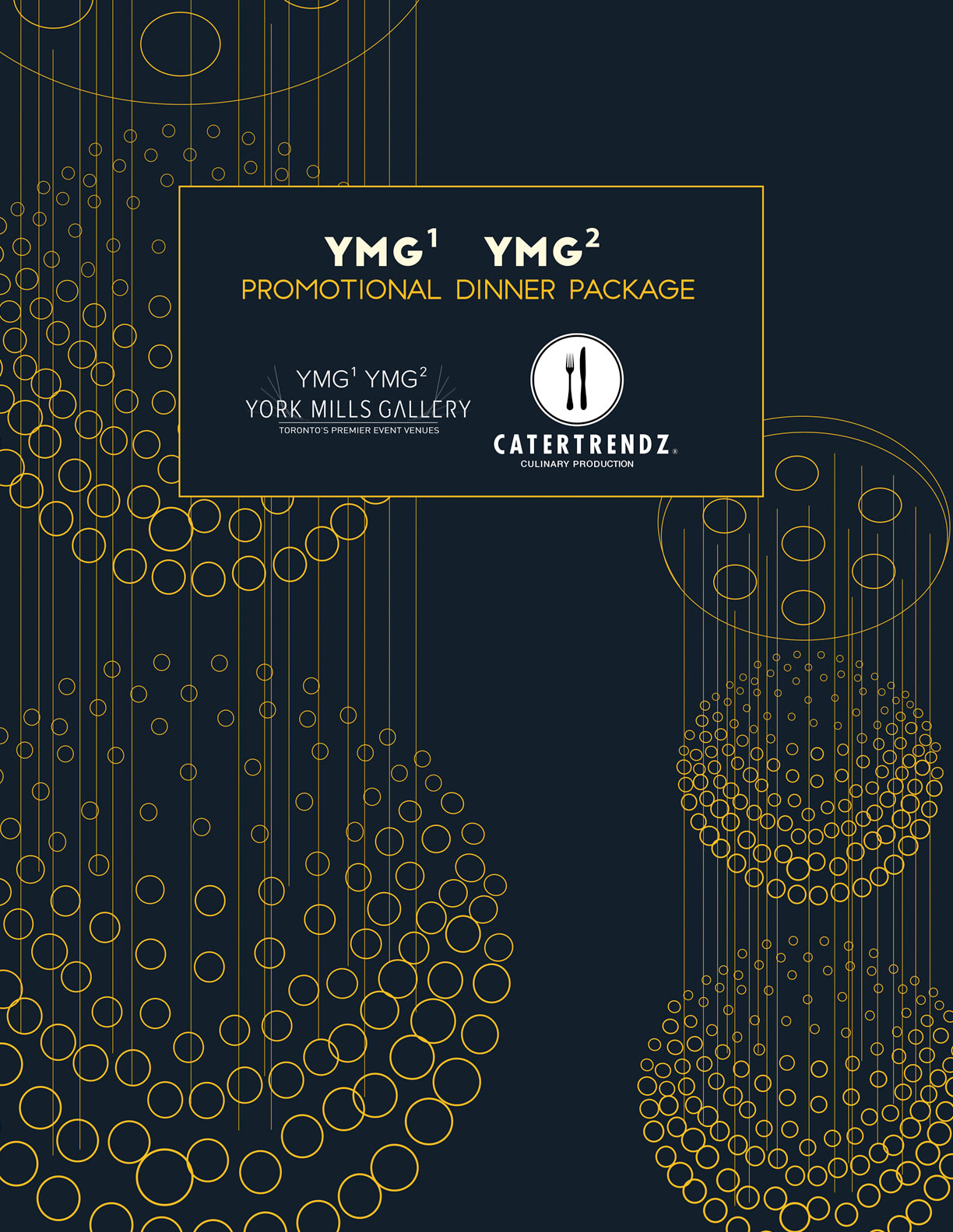 YMG Promotional Dinner Package