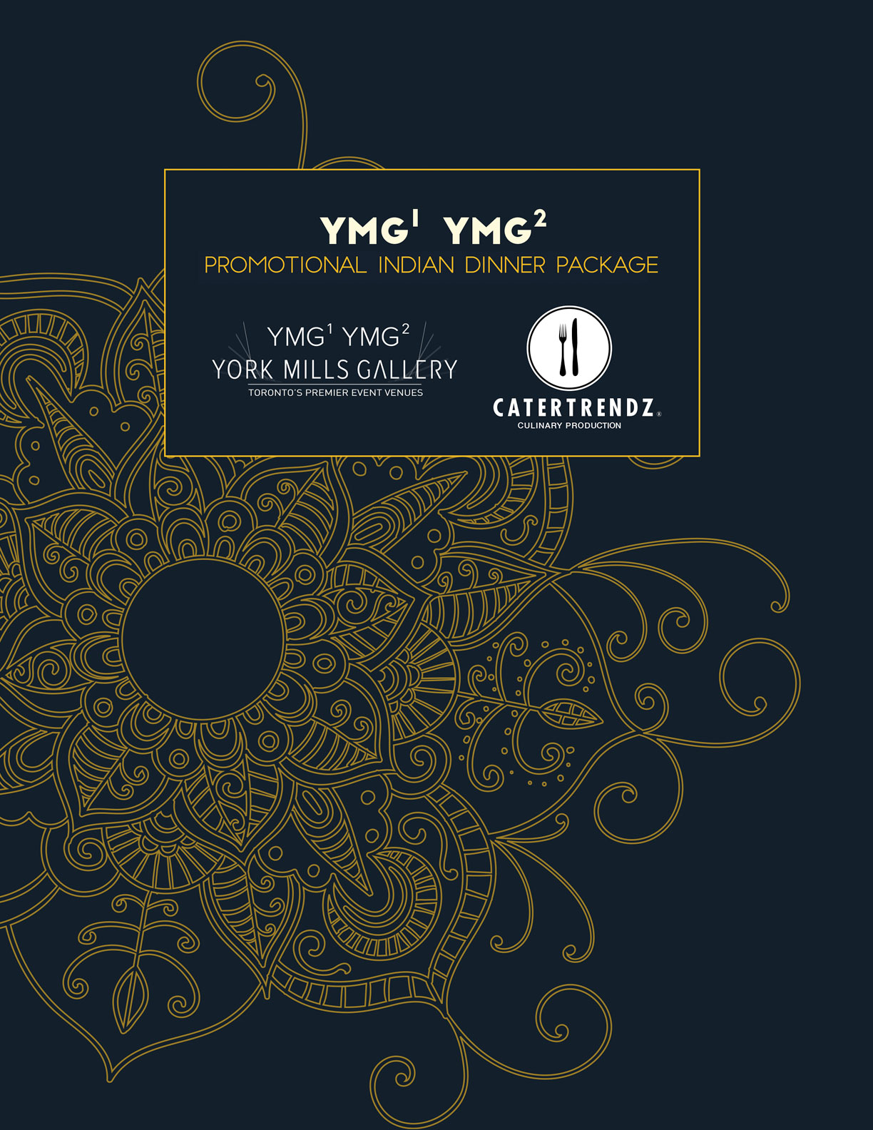 YMG Promotional Indian Dinner Package