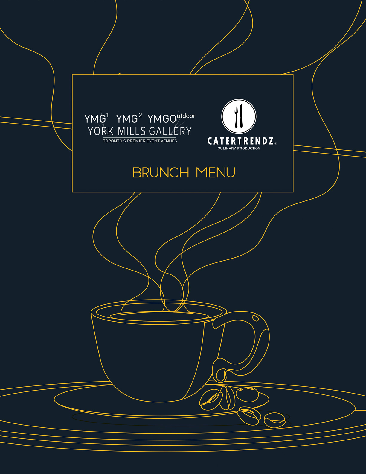 YMG Brunch Menu