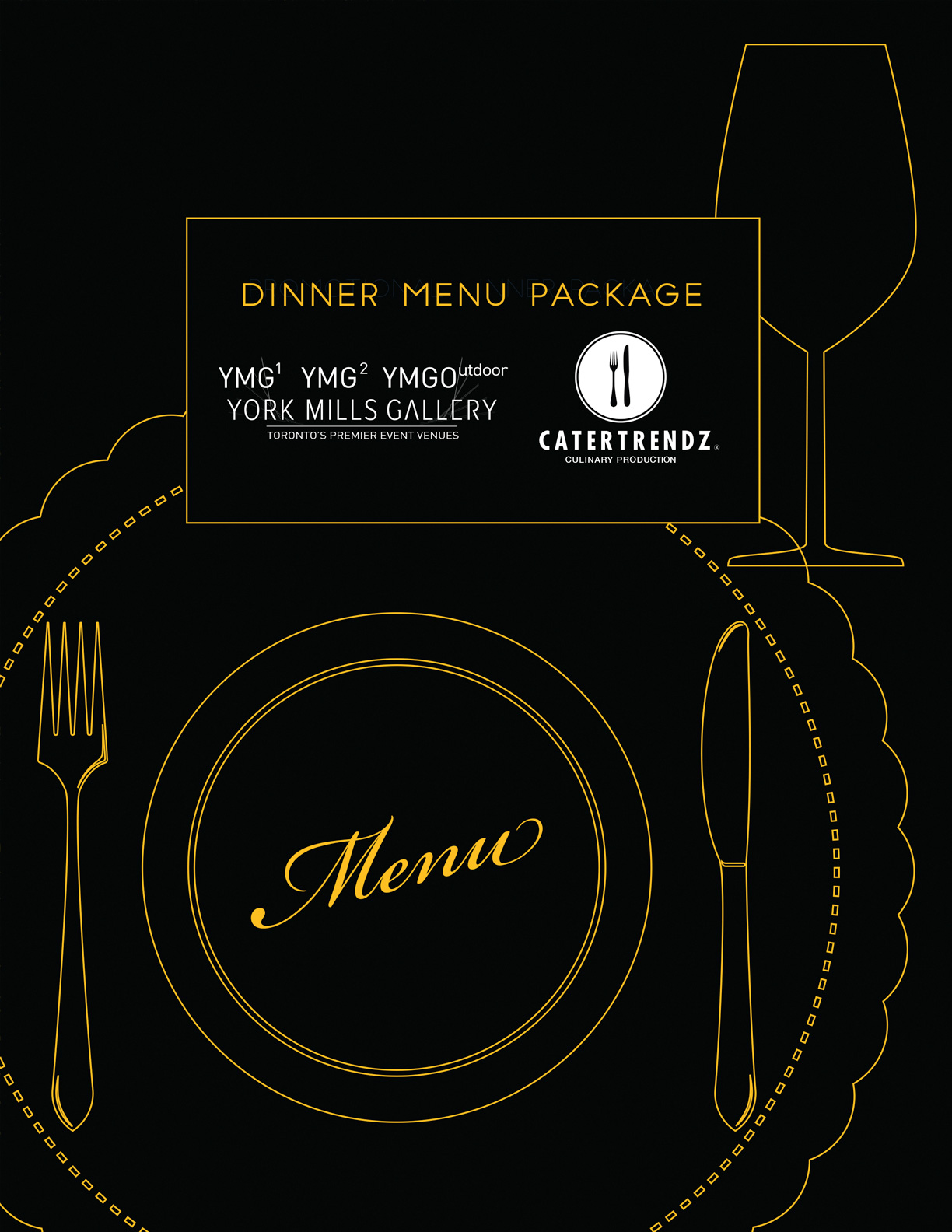 YMG Dinner Menu Package